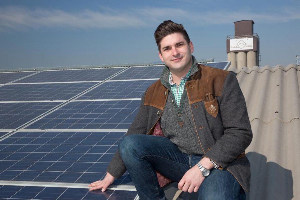 Josef Rickl und Photovoltaik
