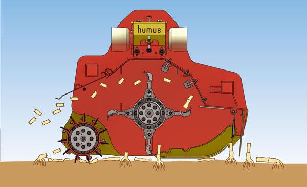 Cut Roller Mulcher Agrar